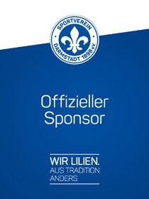 SV Darmstadt 98 – Offizieller Sponsor